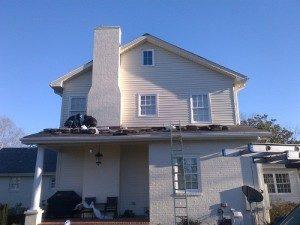 Roof installer in Charlotte